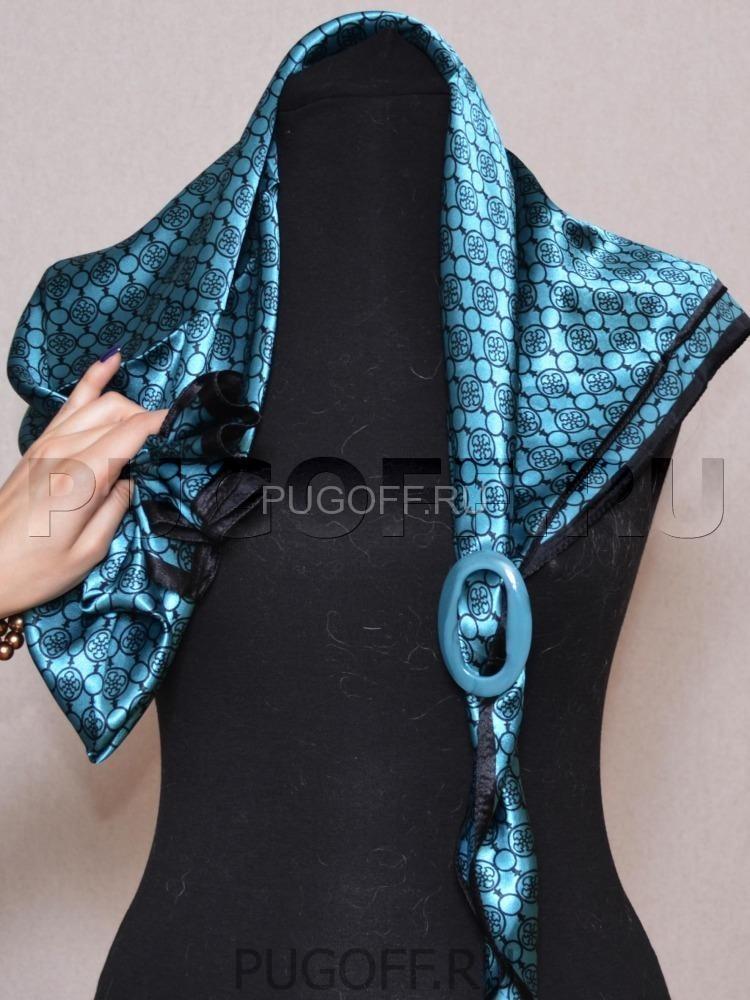 Зажимы для женского платка своими руками